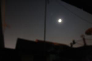 The Moon...Blur