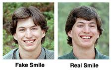 Fake Smile and Real Smile. See how are you determining it ...