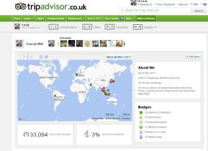 Trip Advisor Account
