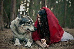 animal-girl-little-red-riding-hood-nature-wolf-Favim.com-318265